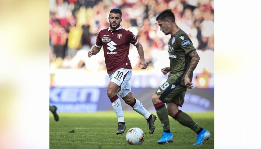 Iago Falque's Worn and Unwashed Shirt, Torino-Cagliari 2019