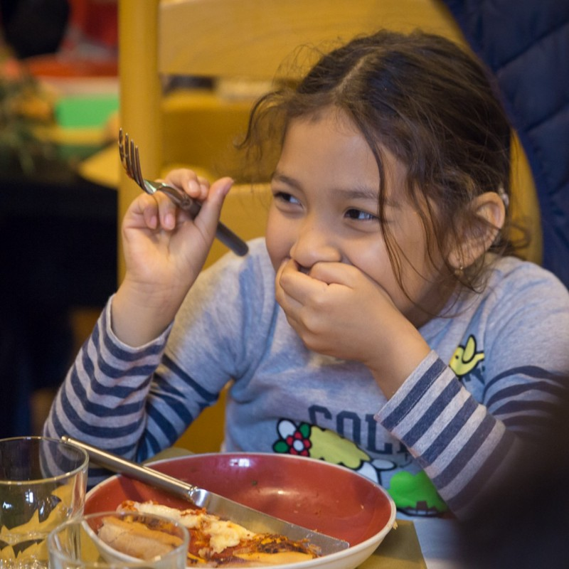 "Fund a Child's School Lunches for 1 Year at the ""Casa per Crescere"""