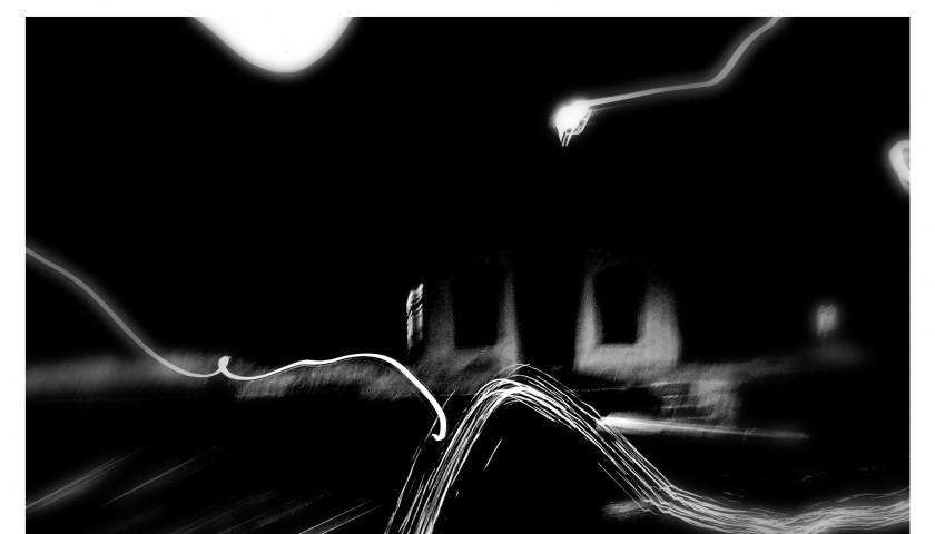 "Carine Dionisi ""Orage"" digital photograph printed - 30x40 cm"