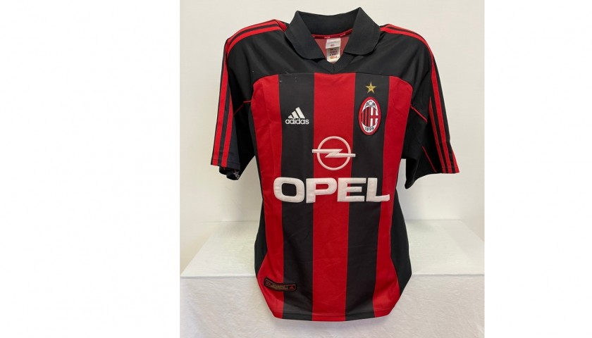 Shevchenko's Official Milan Signed Shirt, 2000/01
