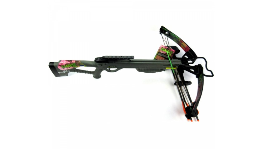 Norman Reedus Signed Zombie Rip Full Size Crossbow From The Walking Dead