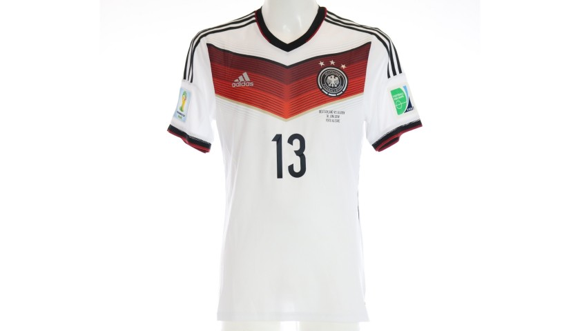 Muller's Match Shirt, Germany-Algeria 2014