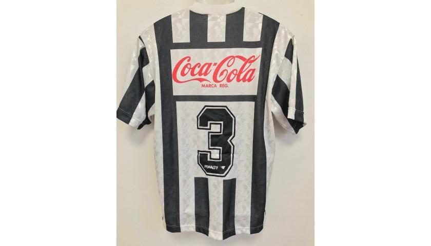 Paulo Sergio's Worn Shirt, Lazio-Atletico Mineiro 1992