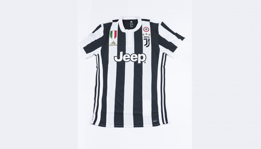 outlet store 8fc14 7f804 Signed Authentic Dybala Juventus Shirt, 2017/18 - CharityStars