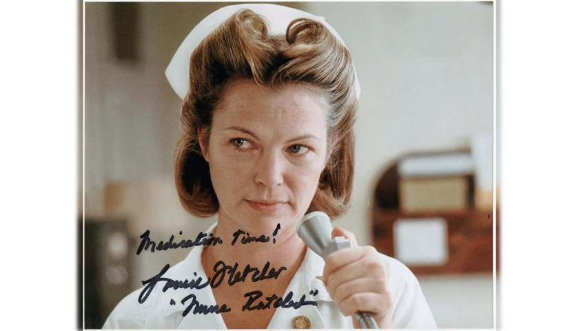 """One Flew Over the Cuckoo's Nest"" - Louise Fletcher Signed Photograph"