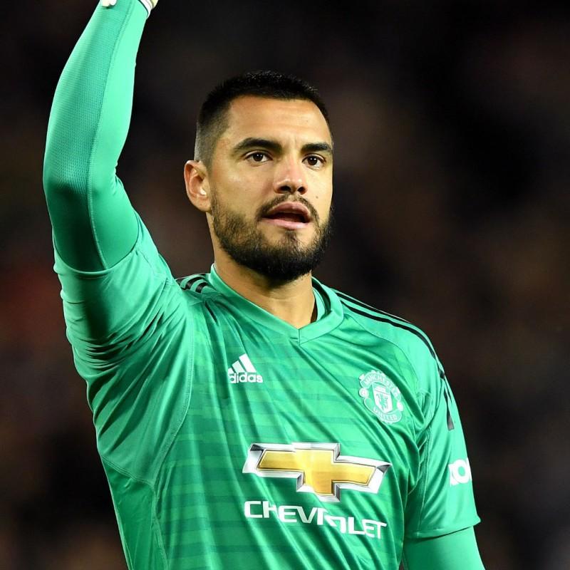Romero's Manchester United Match Shirt, PL 2018/19
