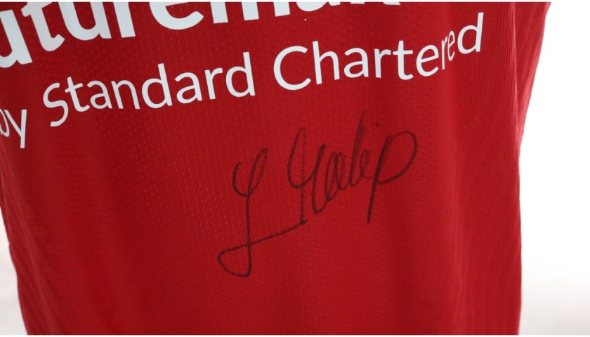 Matip's Liverpool FC Match-Issued and Signed Shirt, Limited Edition 20/21