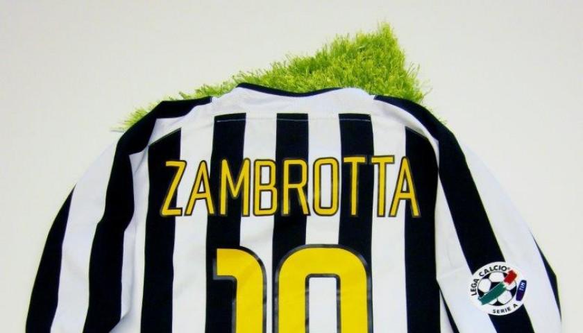 premium selection 0d87a 640d4 Zambrotta match issued/worn shirt, Juventus, Serie A 2003/2004 -  CharityStars