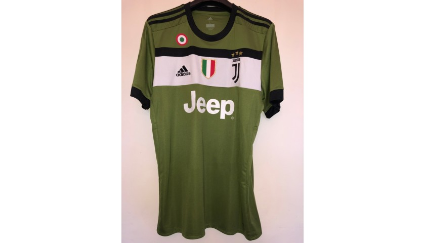 Dybala's Official Juventus Signed Shirt, 2017/18