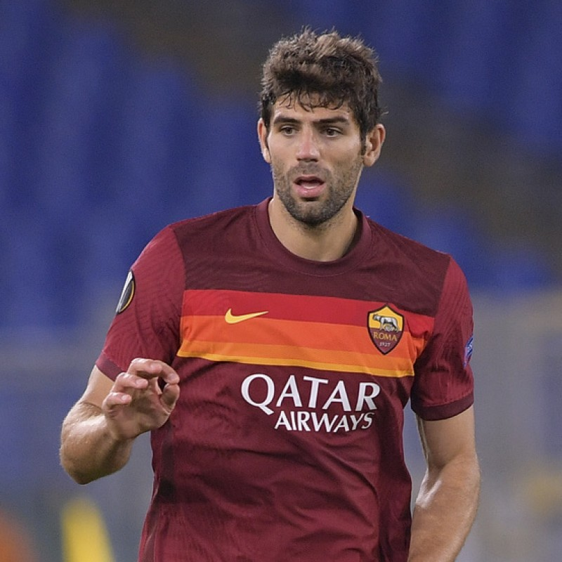 Fazio's Match-Issued Shirt, Roma-Torino - WFP Special