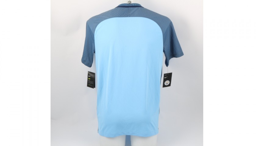 Official Manchester City 2016 Home Shirt Signed by Gaël Clichy