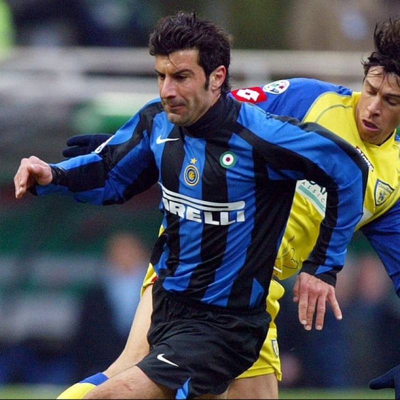 Figo's Worn Shirt, Inter-Chievo 2006
