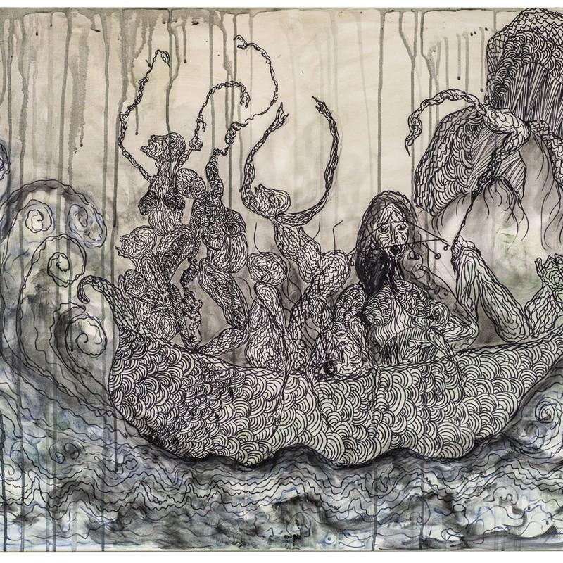 """""""Noah's Ark"""" by Zehra Doğan"""