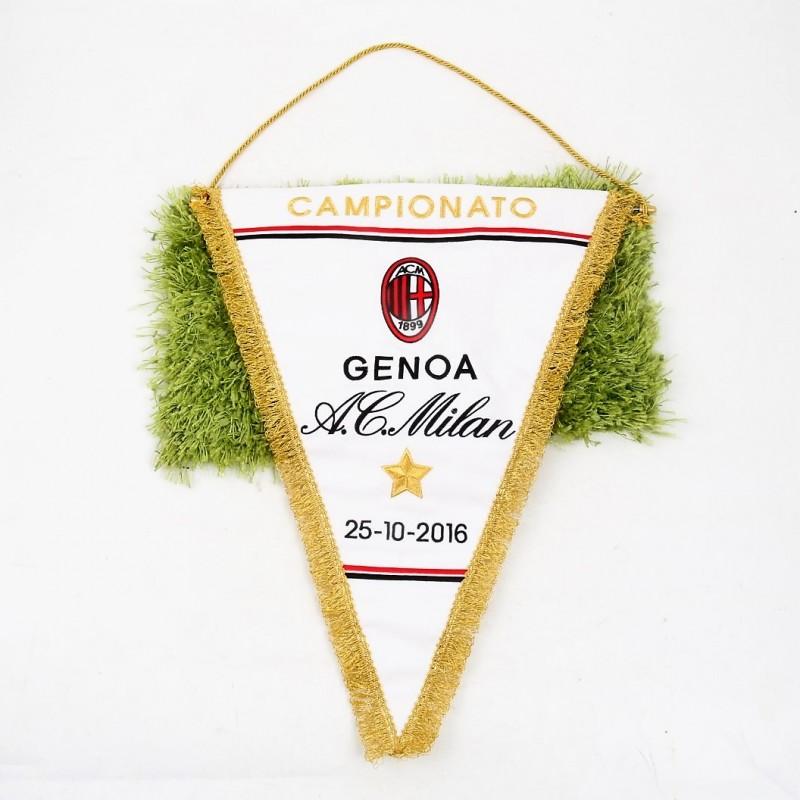 Gagliardetto Ufficiale Genoa-Milan, Serie A 2016/17