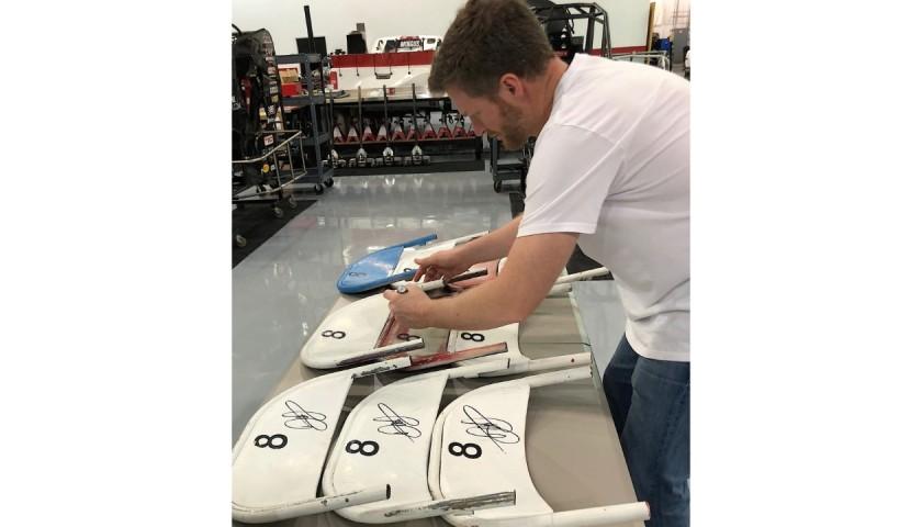 Dale Earnhardt Jr. Signed Original Daytona International Speedway Seat Back