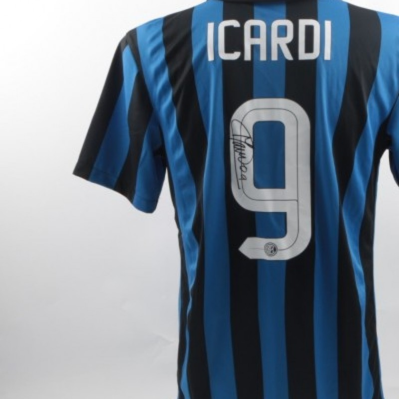 Official icardi Inter shirt, Serie A 2015/2016 - signed