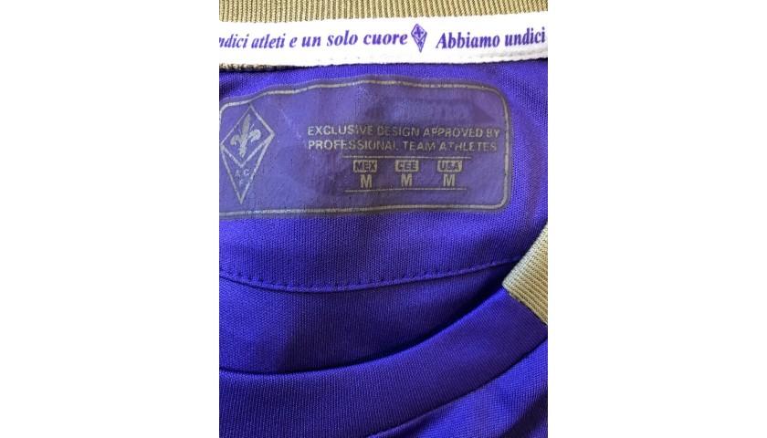Cuadrado's Fiorentina Signed Match Shirt, 2014/15
