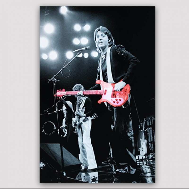 Paul McCartney Print by Richard E. Aaron