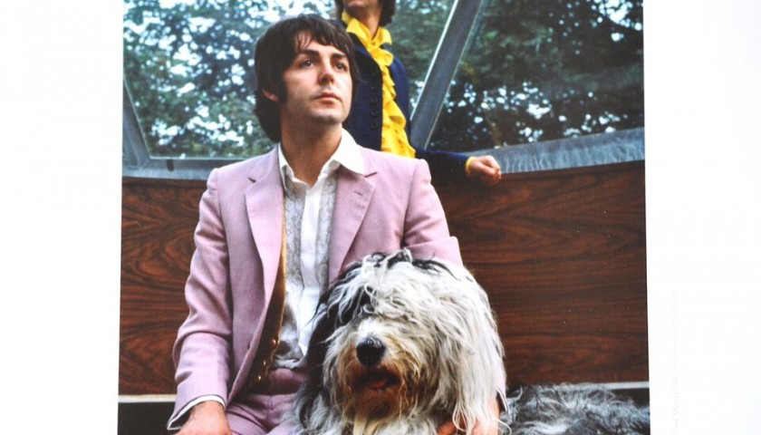 World-famous Photographs of the Beatles, by Tom Murray, featuring the Nowhere Man