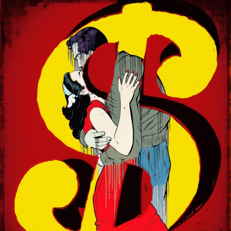 """Love, love money vs Banksy & Andy"" by Mr Ogart"