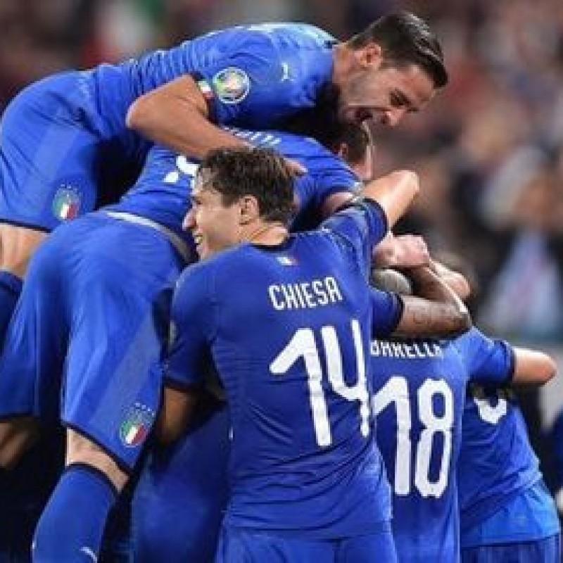 El Shaarawy's Match Shorts, Italy-Bosnia 2019