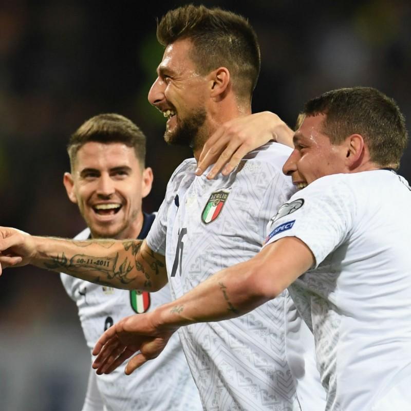 Acerbi's Match Shirt, Bosnia-Italy 2019