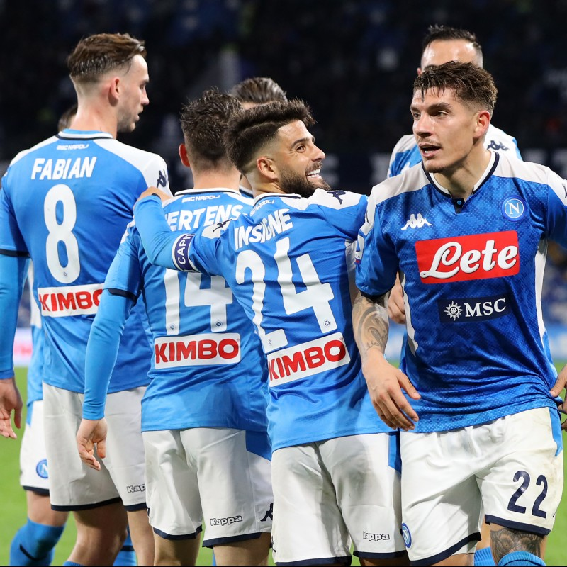 Napoli Official Shirt, 2019/20 - Signed by the Players
