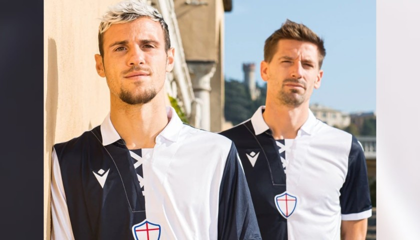 Verre's Match-Issued Kit, Sampdoria-Milan 2020, SPECIAL 120 Years Andrea Doria