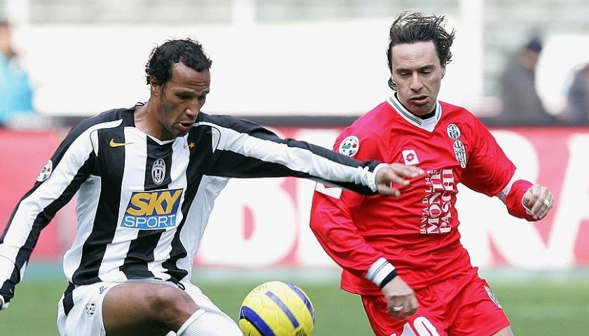 Chiesa's Siena Signed Match Shirt, 2004/05