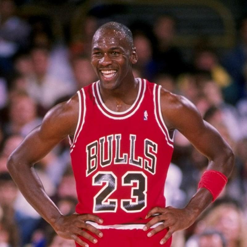 Official Air Jordan Jersey - Signed by Michael Jordan