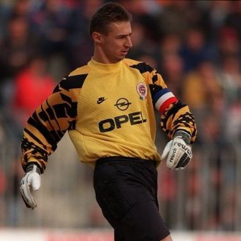 Kouba's Worn Shirt, Sparta Prague-Milan 1995