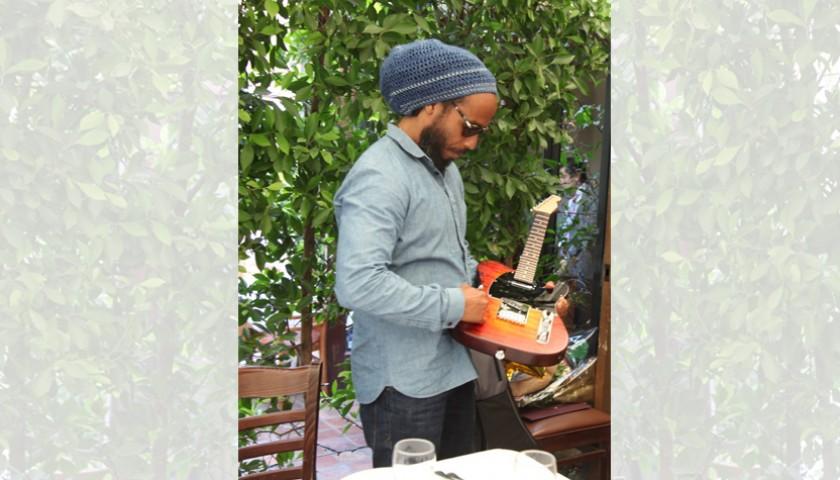 Signed Ziggy Marley Custom Telecaster Style Guitar