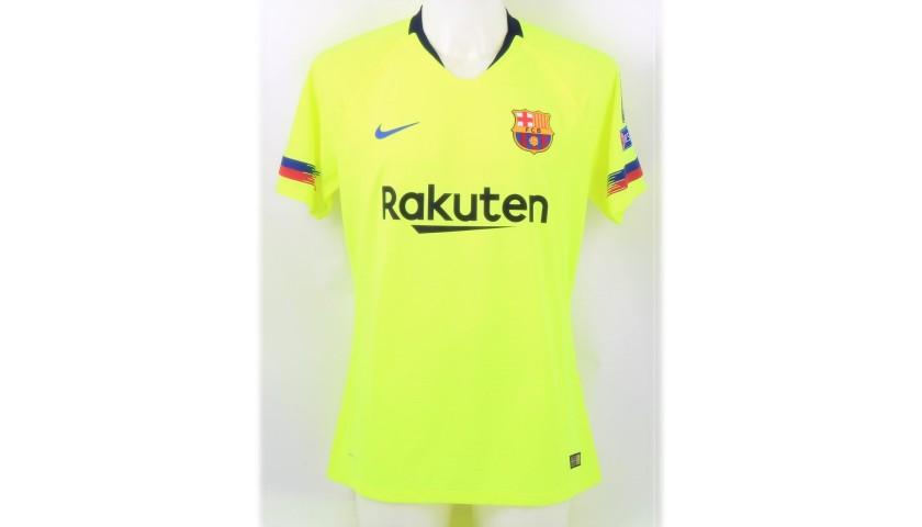 Suarez's Barcelona Match Shirt, UCL 2018/19