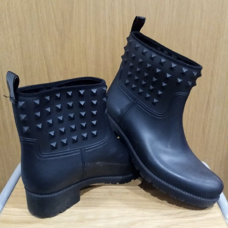 Michael Kors Black Wellies