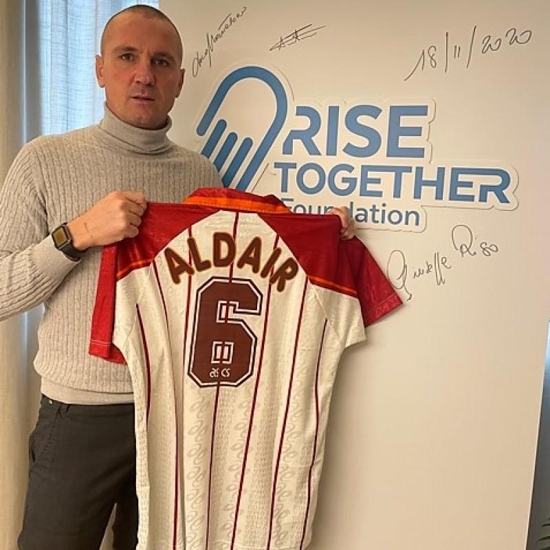 Aldair's Roma Worn Shirt, 1996/97