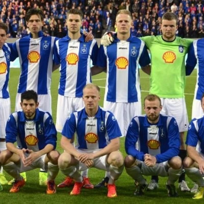 Toft's Worn Inter-Stjarnan Shirt, Europa League 2014/15