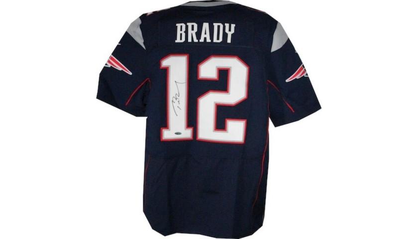 New England Patriots'  Tom Brady Autographed Jersey