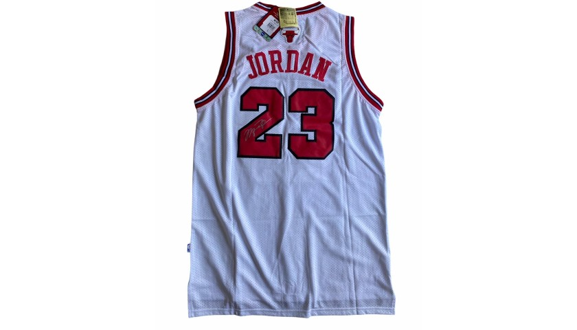 Jordan's Official Chicago Bulls Signed Jersey