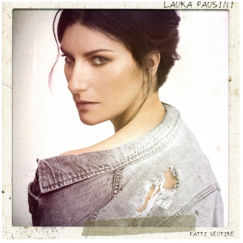 Album Fatti Sentire autografato da Laura Pausini