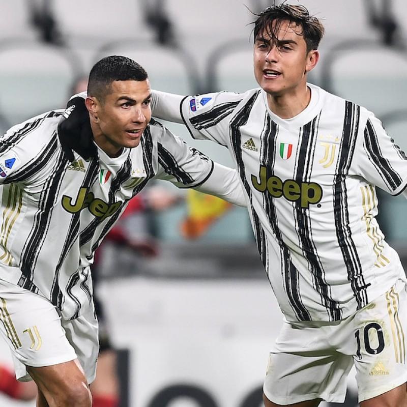 Official Juventus Football - Signed by Ronaldo, Dybala and Morata