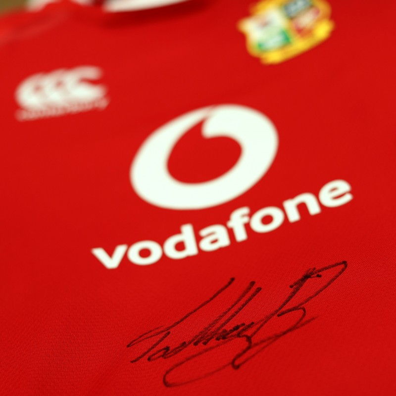 Lions 2021 Test Shirt - Worn and Signed by Tadhg Beirne