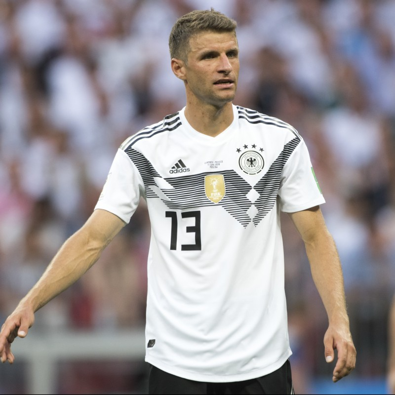 Muller's Official Germany Signed Shirt, 2018
