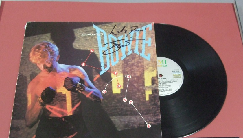 David Bowie Signed Album