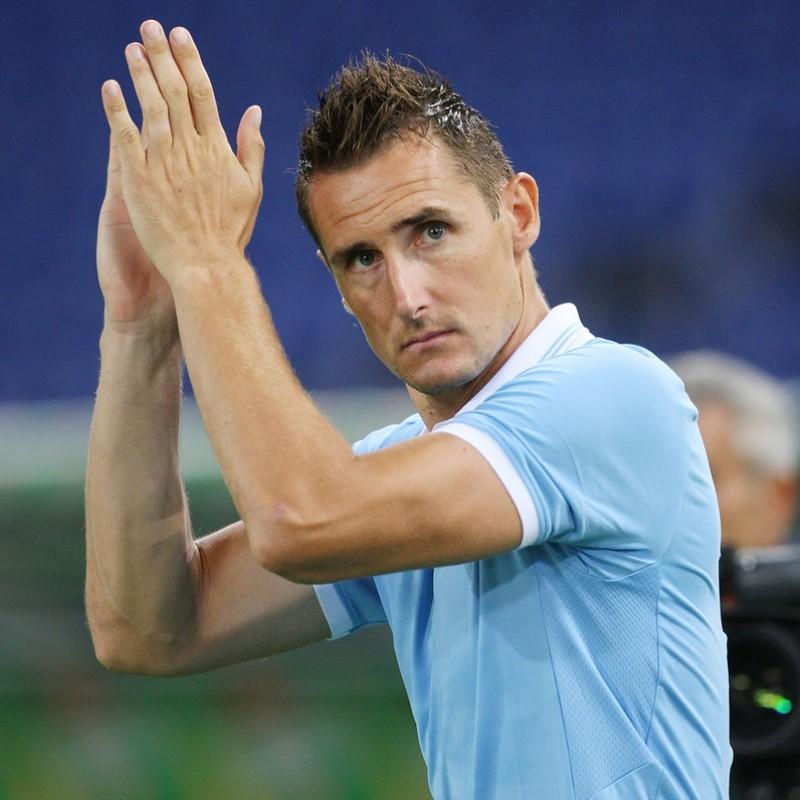 Klose's Match Shirt, Lazio-Getafe 2012