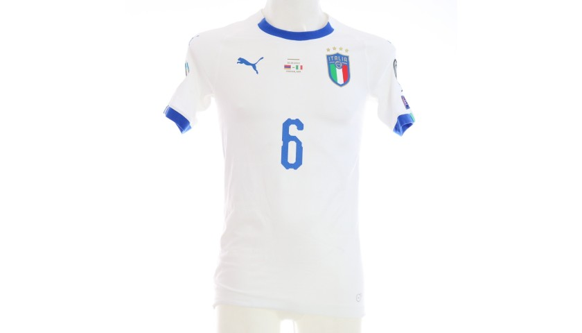 Verratti's Match Shirt, Armenia-Italy 2019