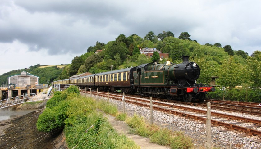 2 VIP Tickets for a Steam Train Ride on the Dart Valley Railway