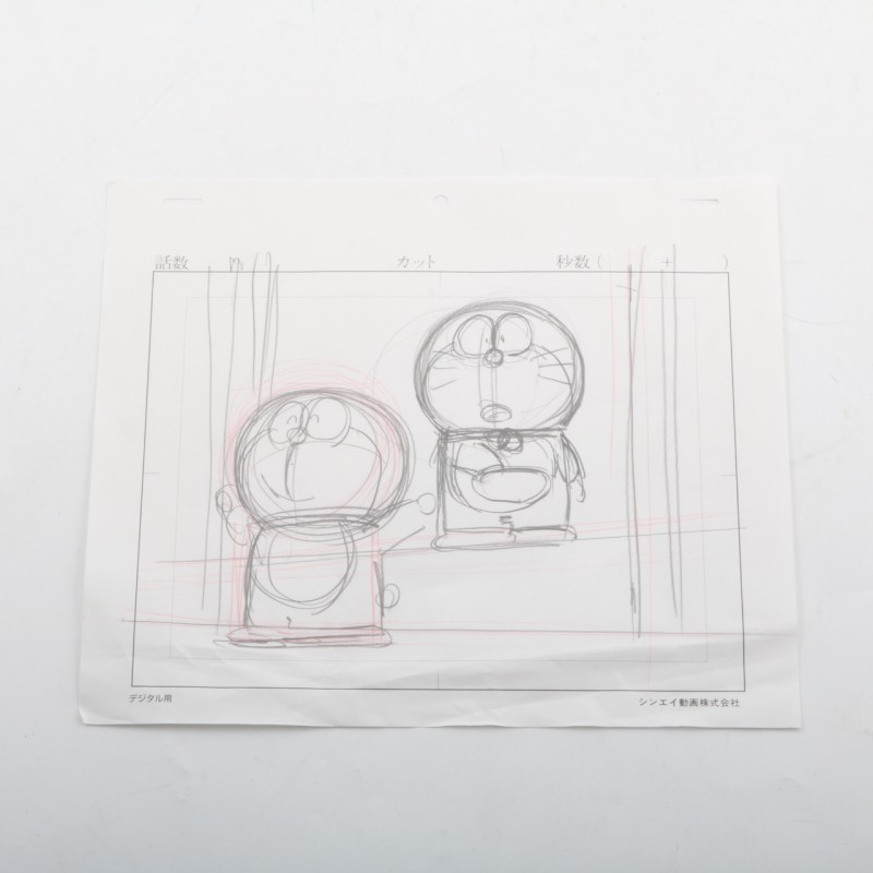 Doraemon original drawing