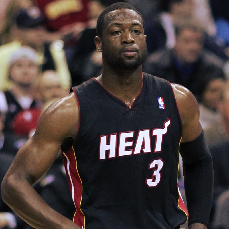 Wade's Official Miami Heat Signed Jersey