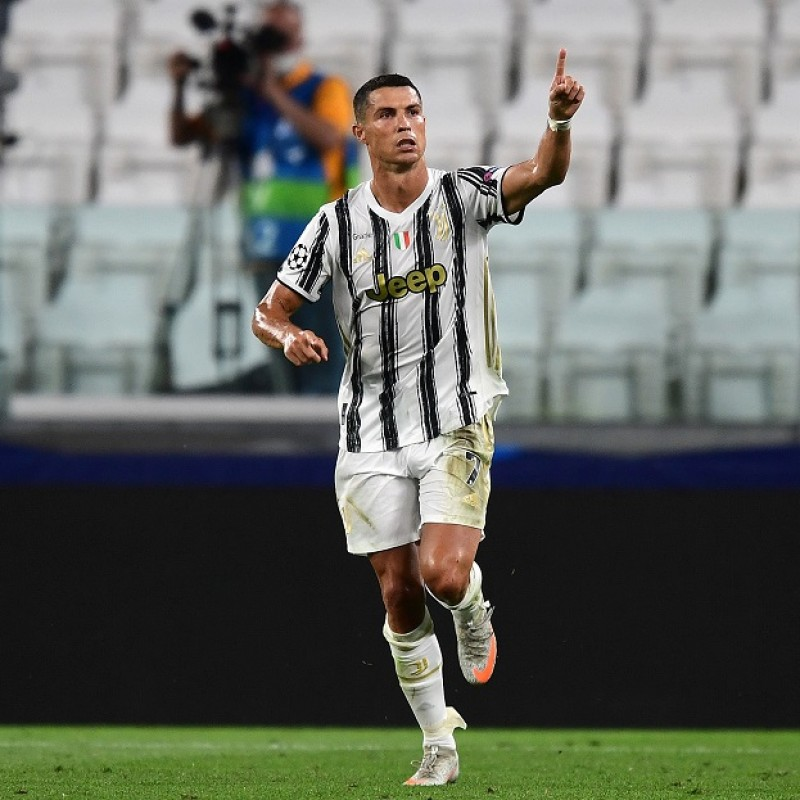 Ronaldo's Match Shirt, Juventus-Lyon 2020