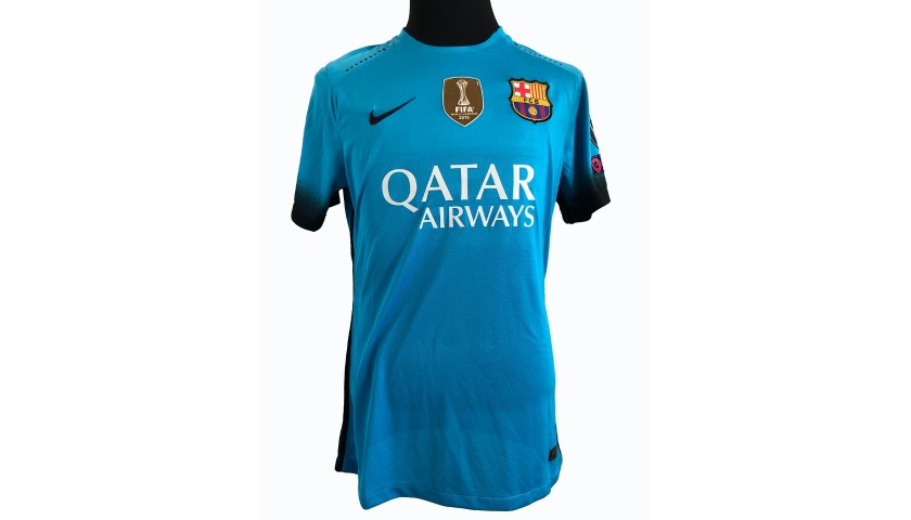 Messi's Match Shirt, Arsenal-Barcelona 2016